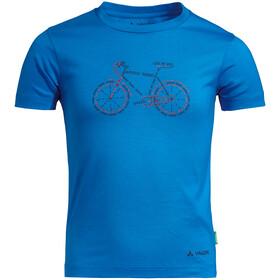 VAUDE Lezza T-Shirt Kinderen, radiate blue/cobalt
